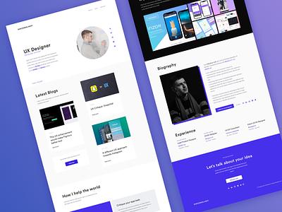 New Portfolio website 2.0 colors redesign design ui ux website portfolio