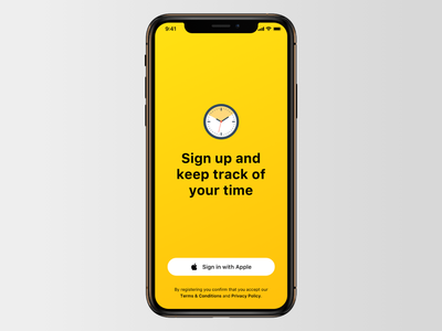 Sign in with Apple apple sign in ui ux design ios app