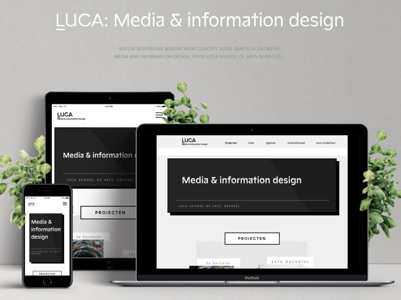 Webdesign mockup sketchapp fictional student webdesign website