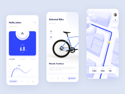 Bicycle rental App