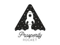 Prosperity Rocket Logo Design