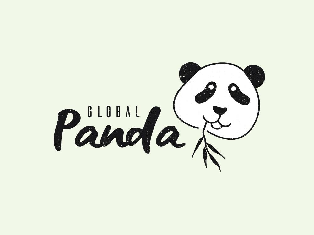 Panda logo day3 dribbble