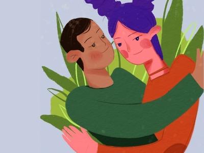 LOVE design  illustration vector 设计 illustration 插图 ui