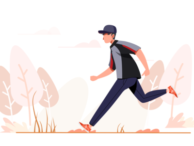 work flat ikon run express sketch 404