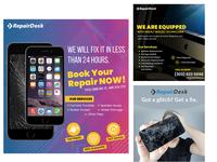 Mobile Repair Social media banner collection