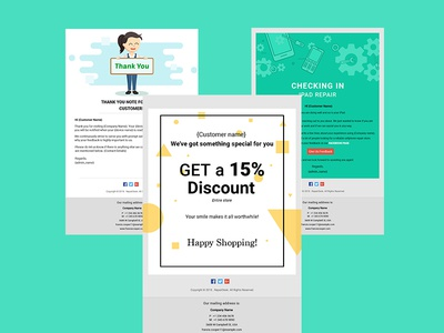 Email Templates Collection