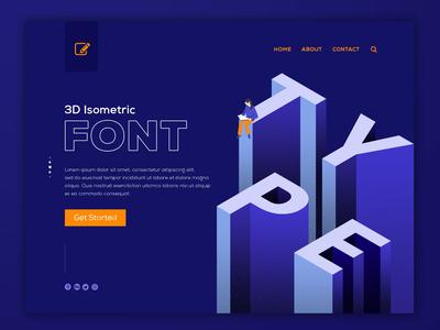Font Website Design
