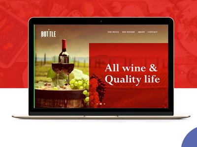 Wine House Website Design