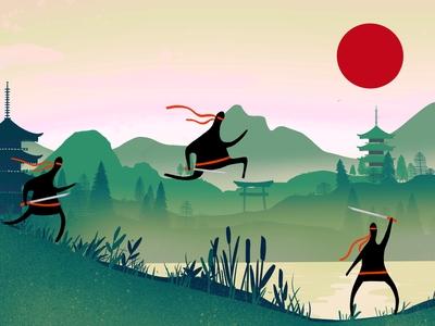 Ninja video game