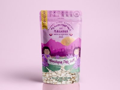 Makhana packaging design