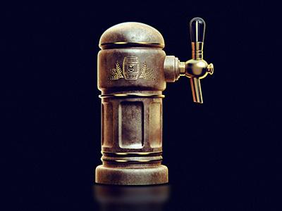Golden Barrel golden barrel beer copper old light shine brooks icon