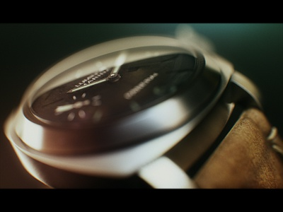 Panerai panerai watch 3d bokeh dof brooks