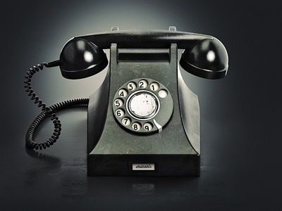 Old Phone  brooks icon old phone ring-a-ling retro telephone