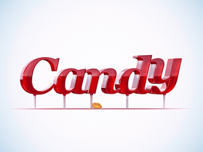 Candy  yummm candy lollipop red font type brooks