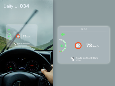 Daily Ui 034 - Car Interface