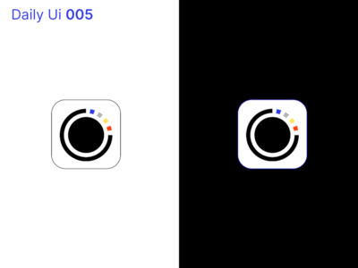 Daily Ui - 006 : App Icon