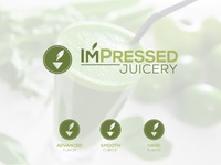 ImPressed Juicery logo design