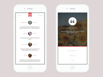 Quotes To Go App second look quotes ios flat app store app