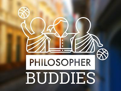 Philosopher Buddies college jacket basketball philosopher team philosophy icon