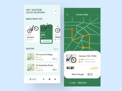 Cycle Rental App