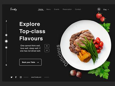 food web freelancer remote work client company brand freelance jobs design user experience clean popular modern minimal app food