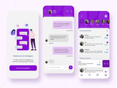 Daily UI . Direct Messaging direct messaging design dailyui ui