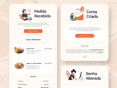 Daily UI . Email Receipt email email receipt design dailyui ui