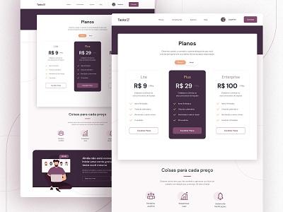 Daily Ui . Pricing landingpage web pricing design dailyui ui