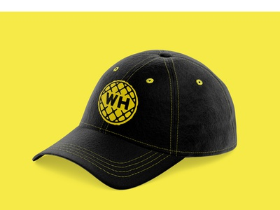 Waffle House Hat brand and identity baseball hat hat brand refresh waffle house trademark restaurant diner design visual identity illustration vector branding brand identity