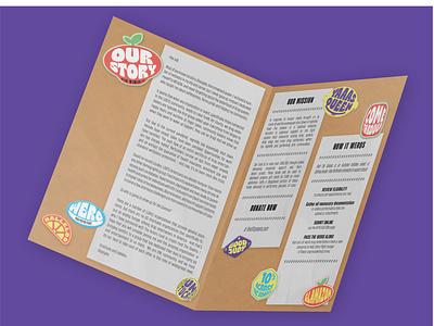 FTQ Brochure brochure mockup food security charity drag queens drag brochure design brochure feed the queens shangela visual identity illustration vector design branding brand identity typography