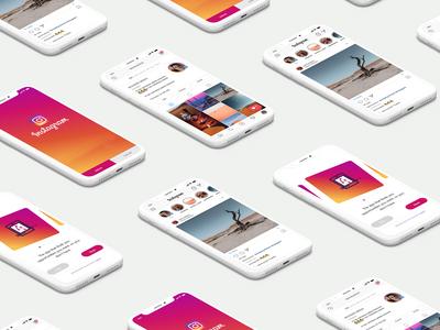 UX-UI-Design-Instagram-App-Concept