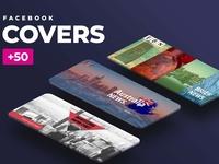 +50 Facebook cover design