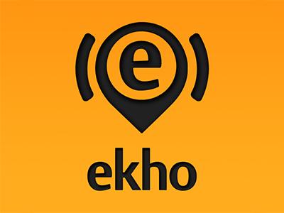 Ekho logo dribbble