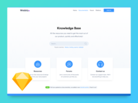 FREEBIE - Knowledge base template