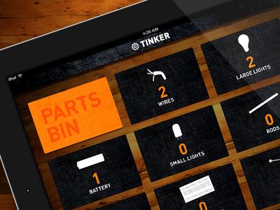 Tinker iPad App Concept