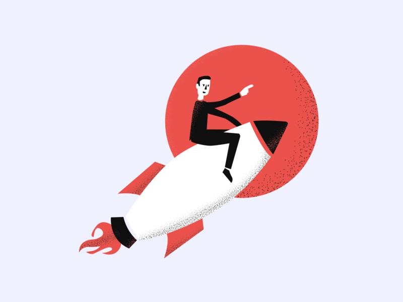 Meta Craft illustration #3 craft meta product launch rocket texture character vector ux ui branding app illustration