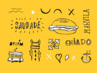 Lisbon Guide by Facebook illustrations #01