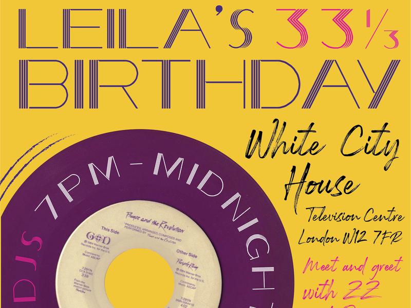 Leila's Birthday WIP