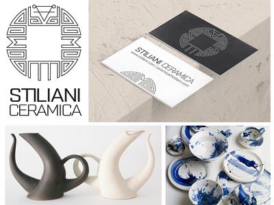 Stiliani Ceramica branding