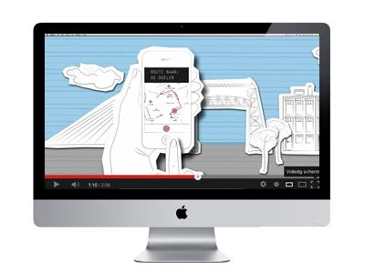 Animatie film applicatie