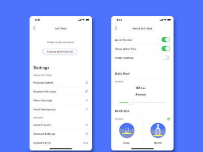 DailyUI_007_Settings settings ui design ux ui