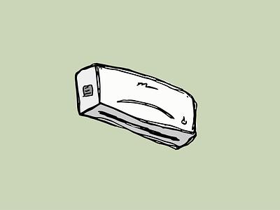 Minisplit ilustración dibujodigital ilustrator trazo objeto design sport dibujo