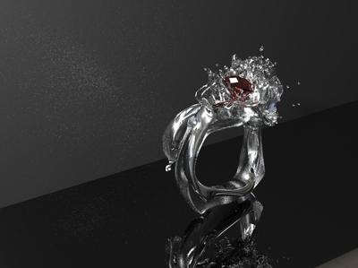 Splash cad jewelry splash diamond ring jewerly yuanzheng yang jewelry designer jewelry design