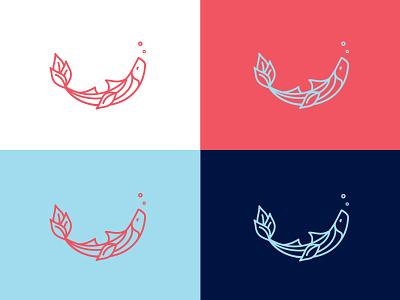 Trufin Icon food fishy art interiordesign restaurant design logo branding icon