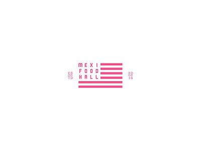 Americado icon fortworth mexican food art interiordesign restaurant design logo branding