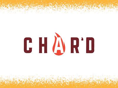 Char'd dallas illustration food art interiordesign bar restaurant design texture icon logo branding