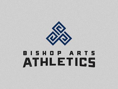 Bishop Arts Athletics triple spiral dallas illustration triskele art crossfit gym design texture icon logo branding