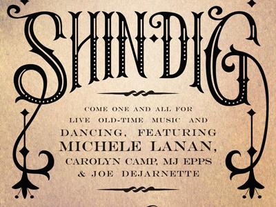 Square Dance Invitation invitation lettering design western shindig