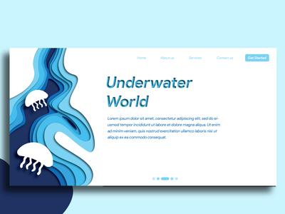 Papercut Design - Web Landing Page