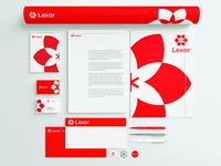 Lexor Rebrand Stationery